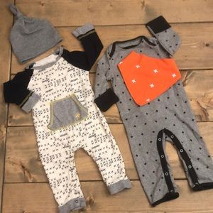 Baby Boy Rompers 6-9M
